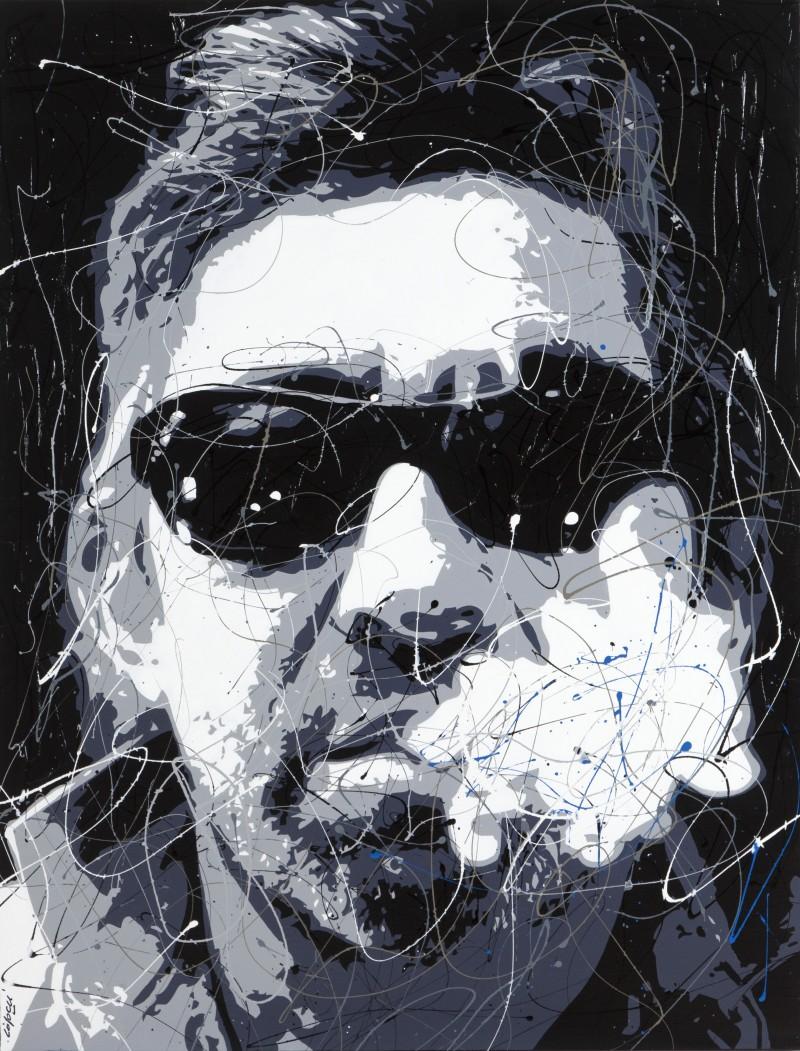 Toile<span>Gainsbourg-Lunette-Noire</span>