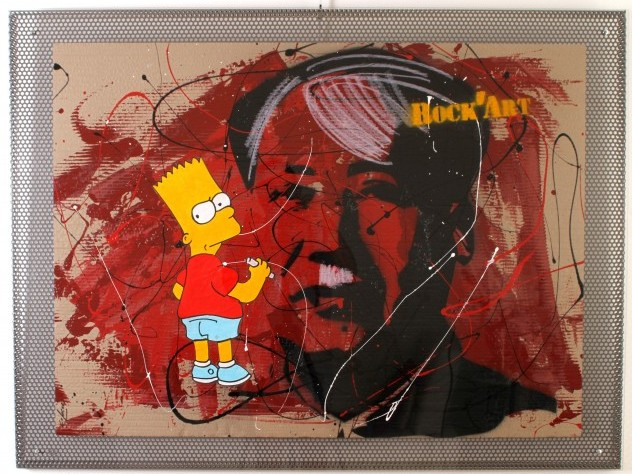 Carton <span>MAO Simpsons</span>