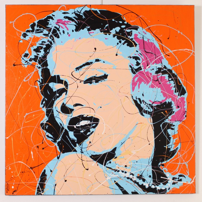 Toile<span>MARILYN ORANGE</span>