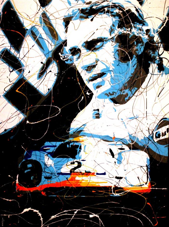 Toile<span>Steve Le Mans</span>