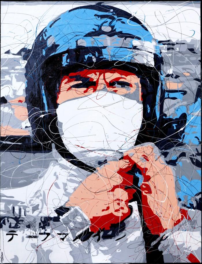 Toile<span>Steve McQueen Le Mans</span>