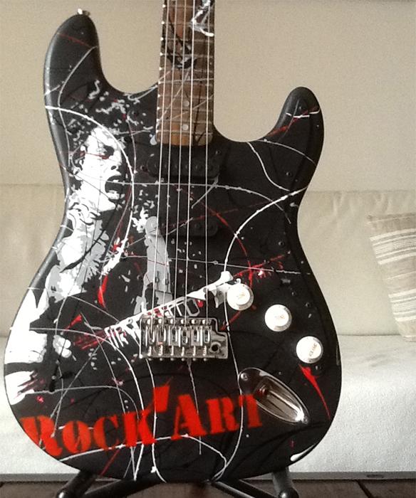 Guitare<span>Rock art</span>