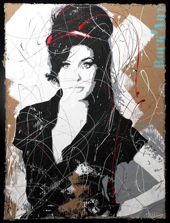 Dominique Capocci - Carton Amy W
