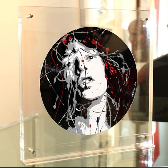 Dominique Capocci - Vinyl M.Jagger