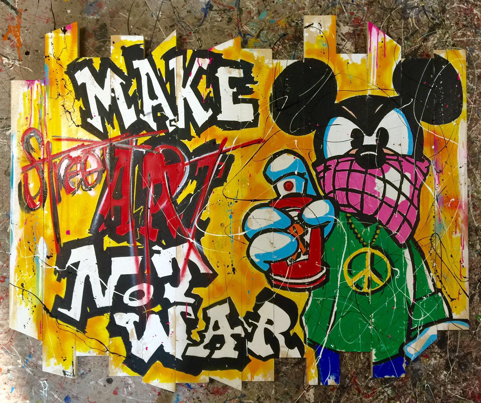 Mickey Make Street not Wars