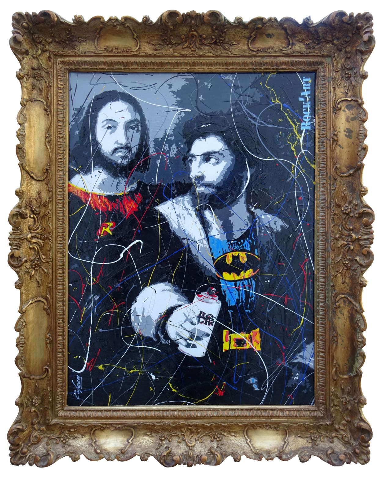 Raphaël et un ami revisité par Dominque CAPOCCI