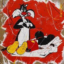 Gros Minet et Mickey